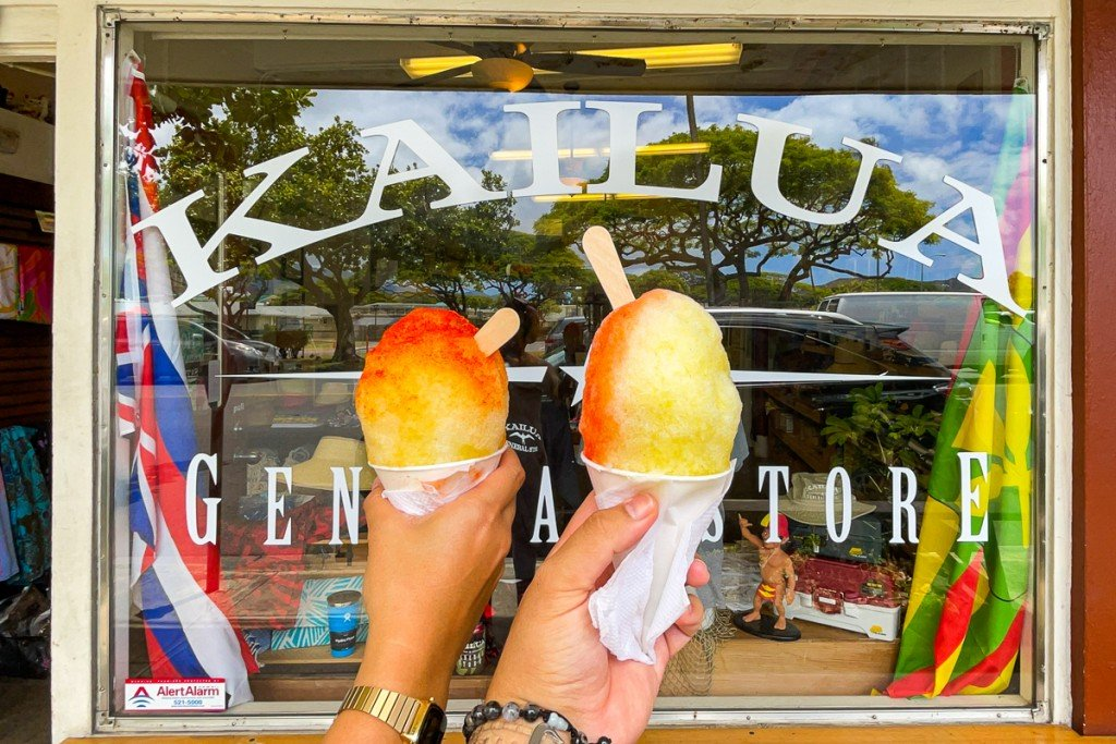 Kailua General Store Shave Ice Credit Thomas Obungen