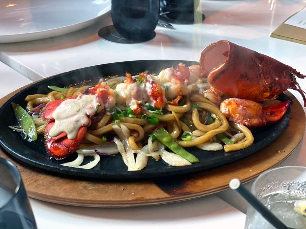 Stripsteak Waikiki Whole Lobster Udon