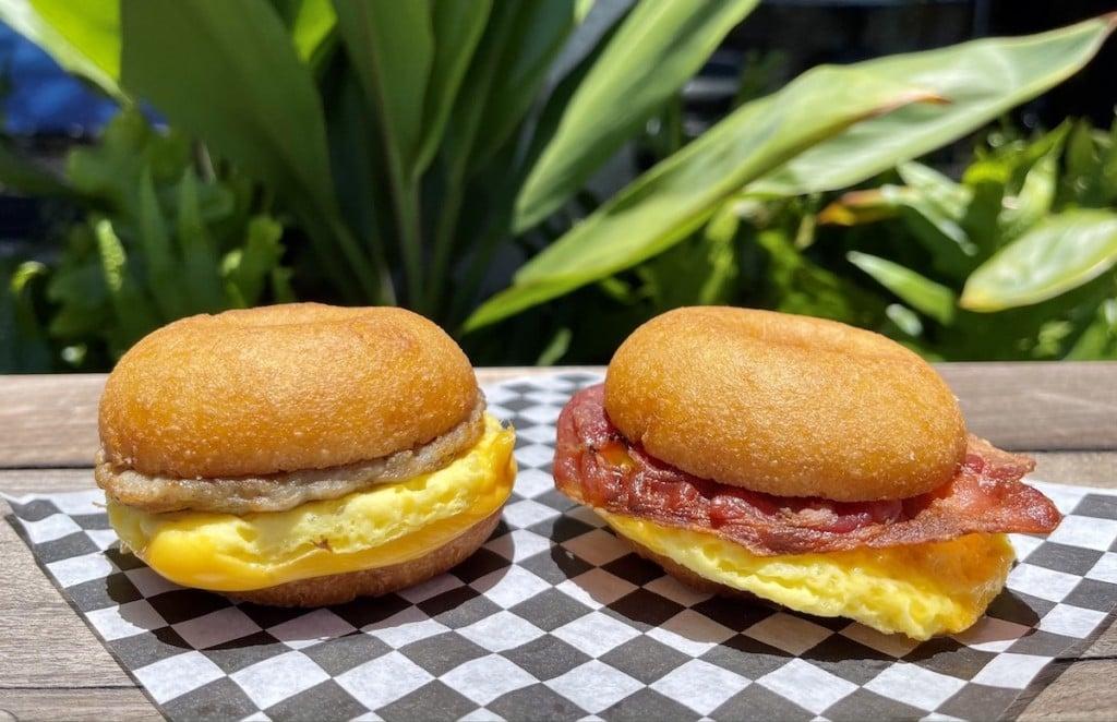Purve Donut Stop Breakfast Sandwiches Maria Burke