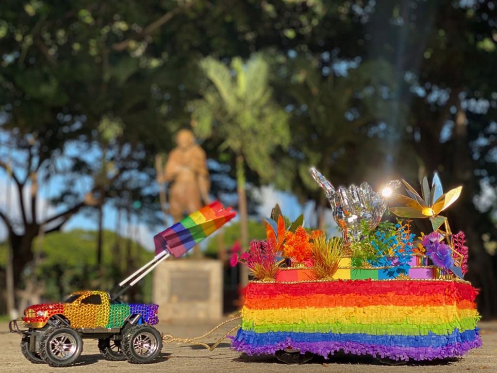 Tiny Float Parade Hawaii Lgbt Legacy Foundation Honolulu Photo Hawaii Lgbt Legacy Foundation