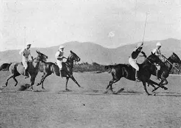 Polo Players In Action 1921 Paradise Of Pacific