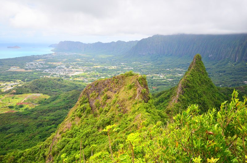 Hike Of The Month Olomana View
