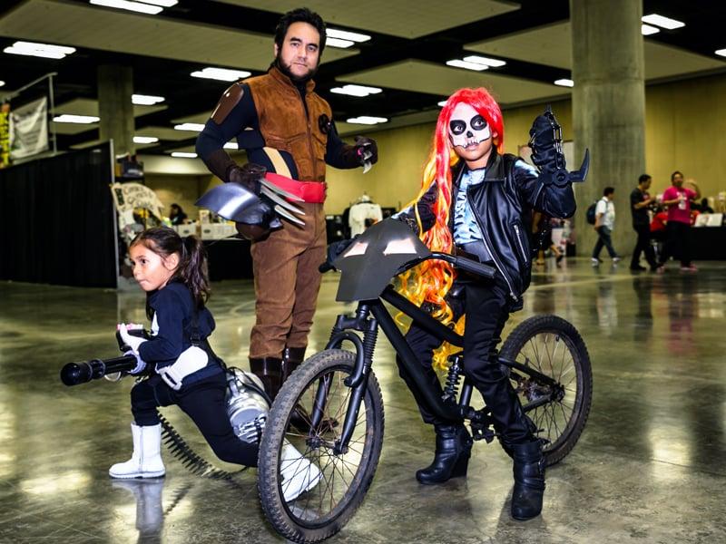 Comic Con Hnl Family