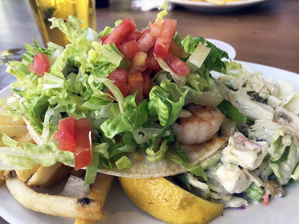 Paia Fish Market Waikiki Honolulu Magazine Shrimp Taco