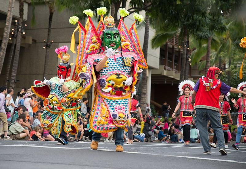 Honolulu Festival Parade By Kelli Bullock
