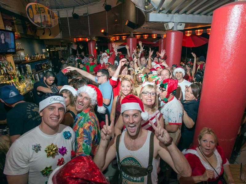 Splash Santa Con