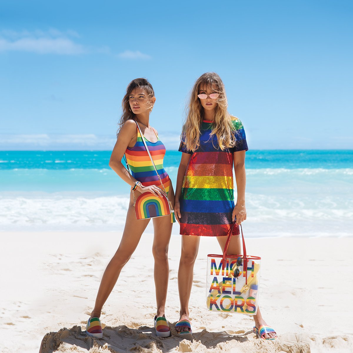 Michael Kors Celebrates Pride Month With the #MKGO Rainbow Capsule  Collection