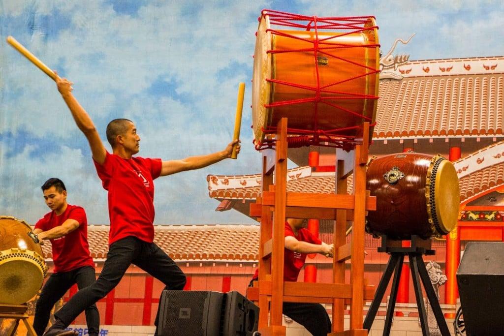 Okinawan Festival Honolulu Convention Center Drums Opener