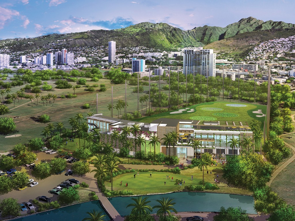 Ala Wai Golf Course Upgrade