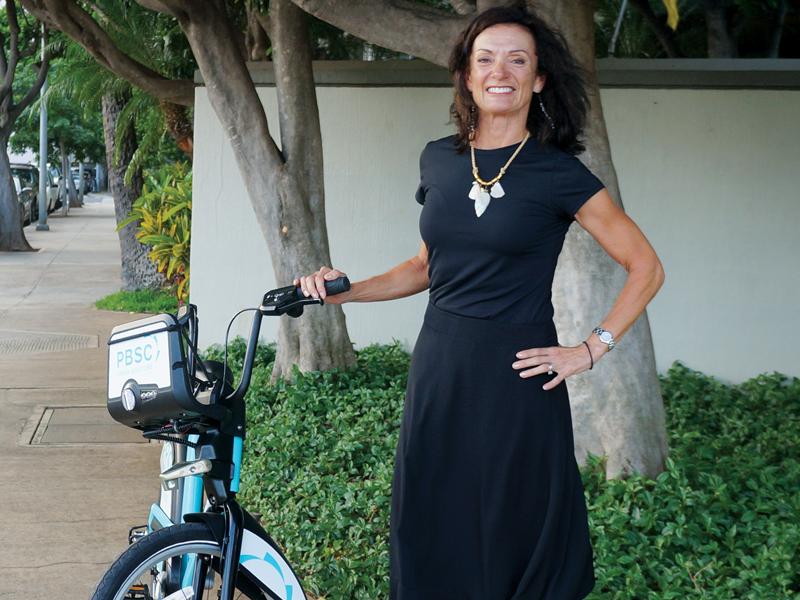 Wheel Deal Bikeshare Lori Mccarney