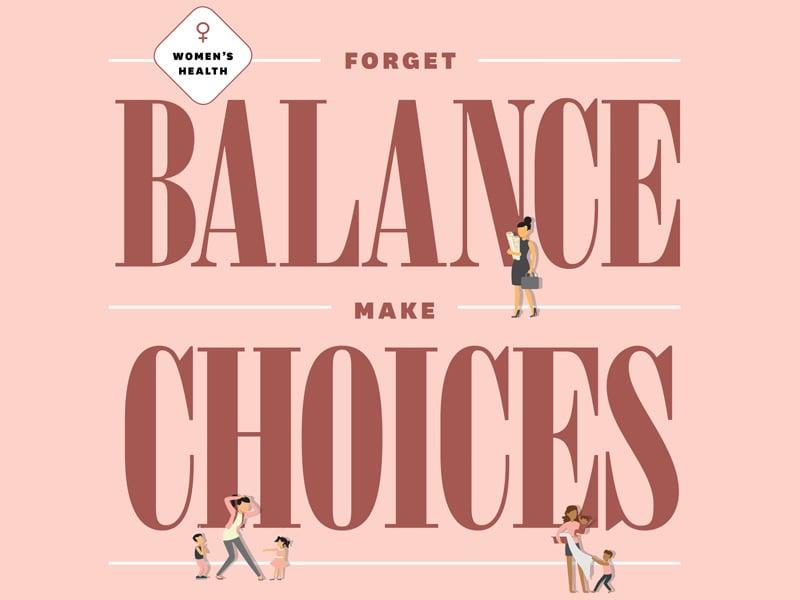 Womens Health Forget Balance