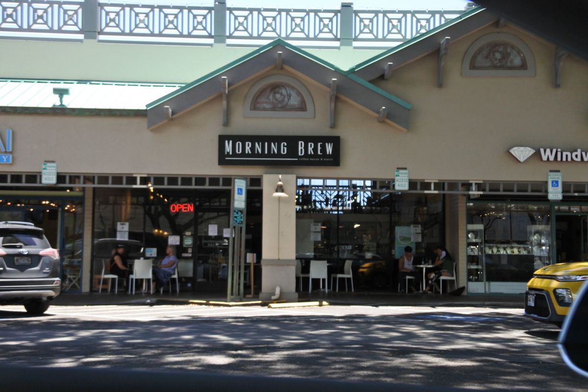 coffee shops in kailua