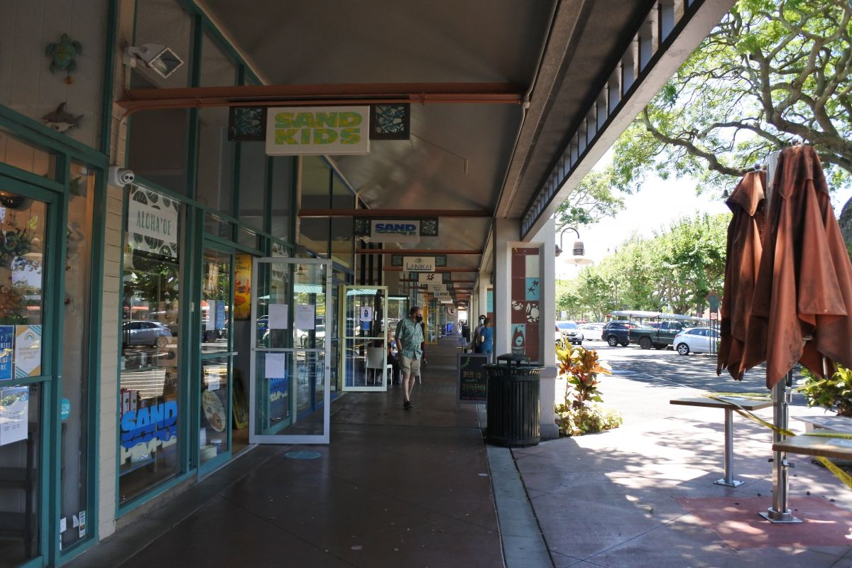 shopping areas in kailua