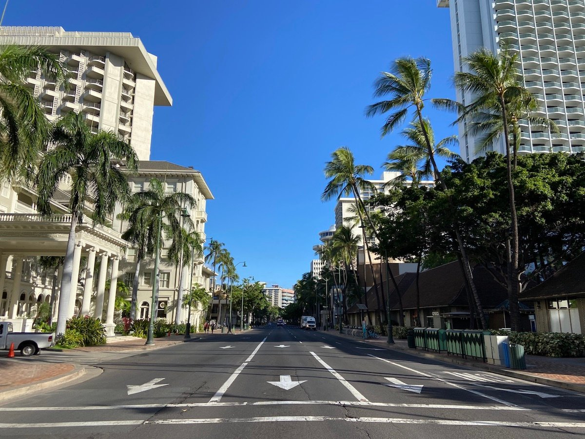 waikiki during shut down