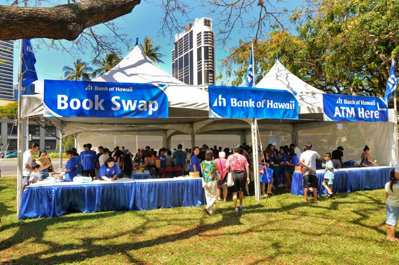 Hawaii Book And Music Festival 2018 Book Swap