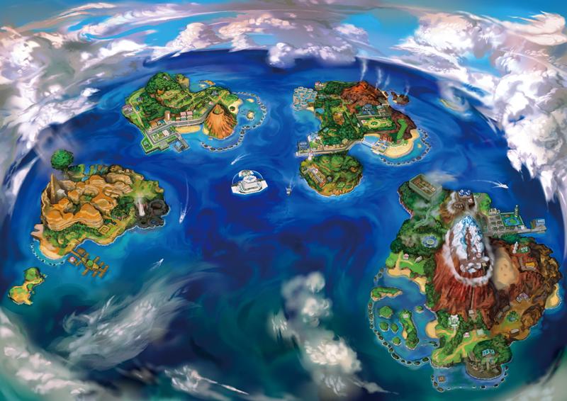 Pokemon Go Alola Islands