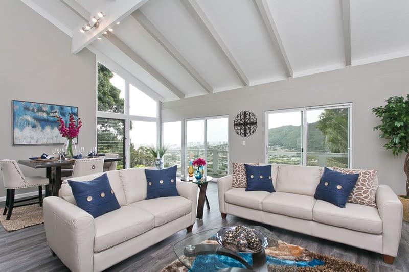 Real Estate Manoa Makeover Interior