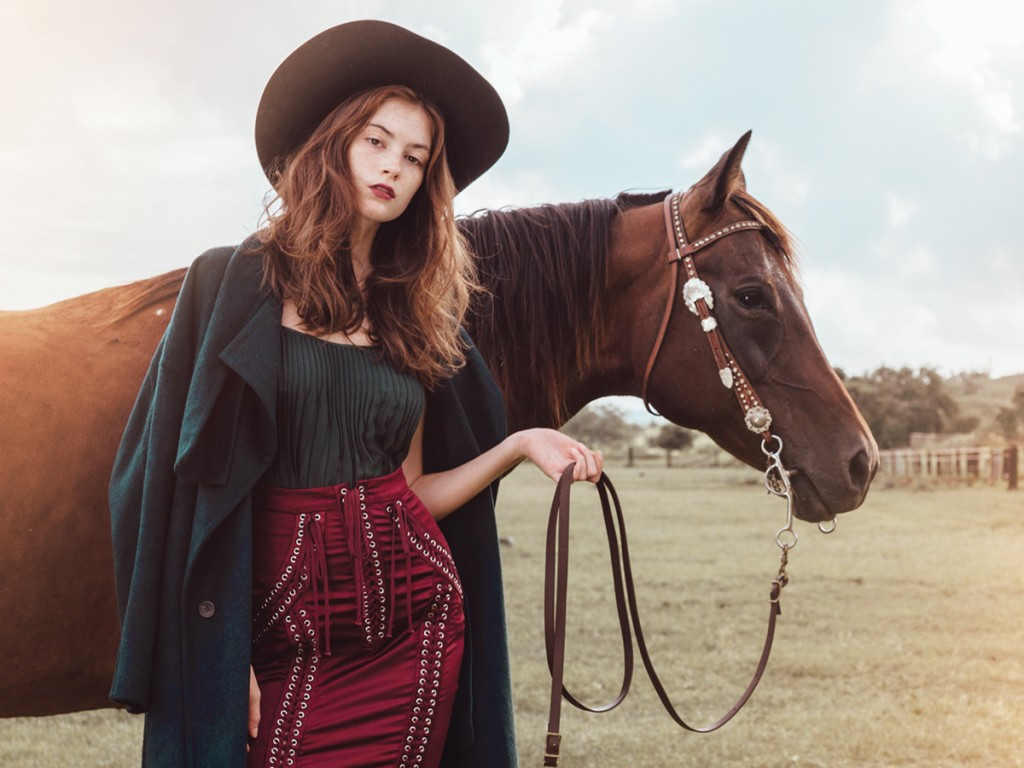 Fall Fashion Cover Country Strong