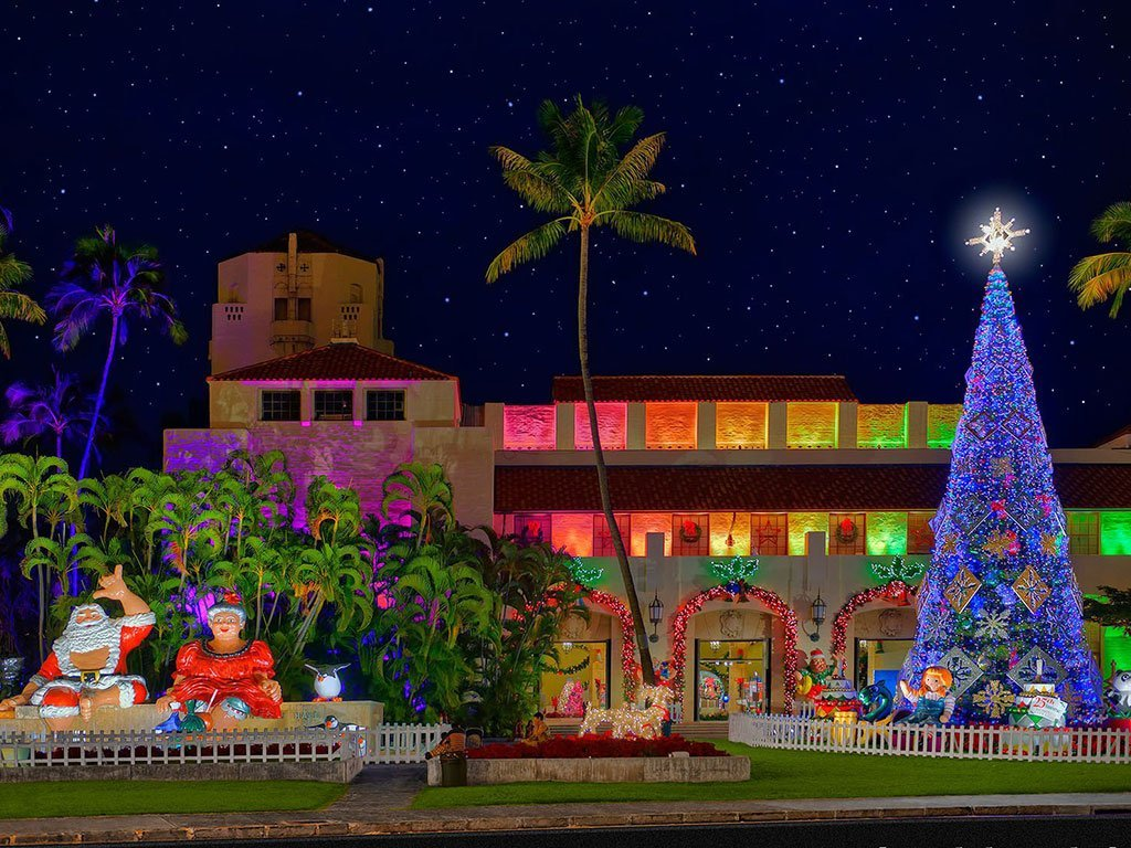 Christmas Lights 2021 In Oahu What Honolulu Services Malls And Stores Are Open Or Closed For Christmas 2017