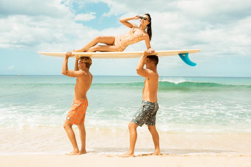 Reyn Spooner Shorts Surf Board