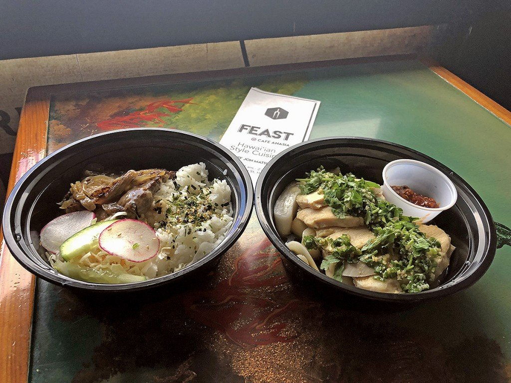 Feast Two Plates Popup Hawaii Cover