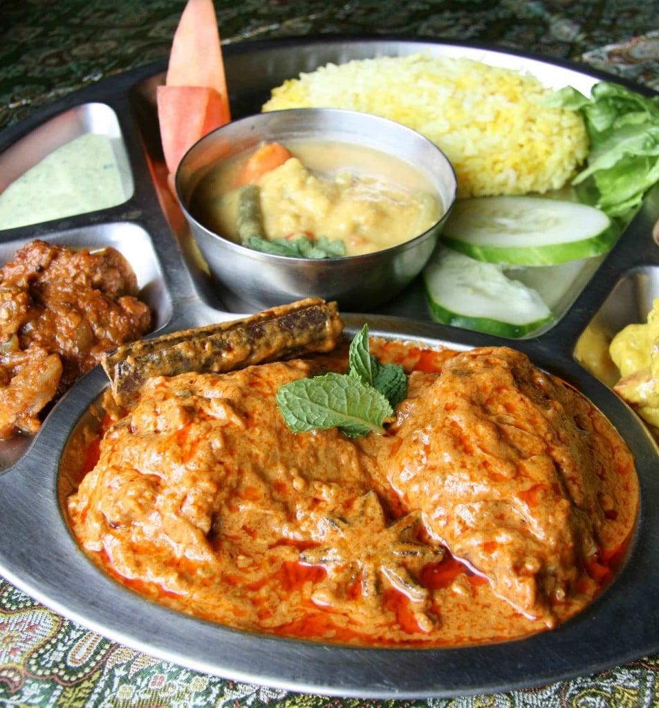 Thali Chicken Curryvert