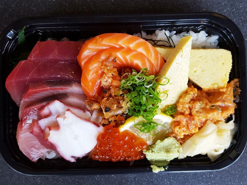 Bc Boa Sushi Chirashi