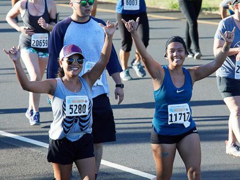 February Events Hawaii Great Aloha Run 2020 Runners