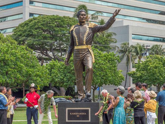 King Kamehameha Iii Statue Preview
