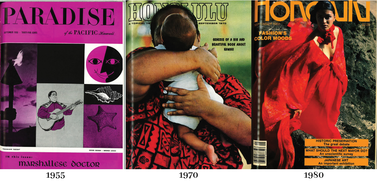 history of hawaii magazine covers