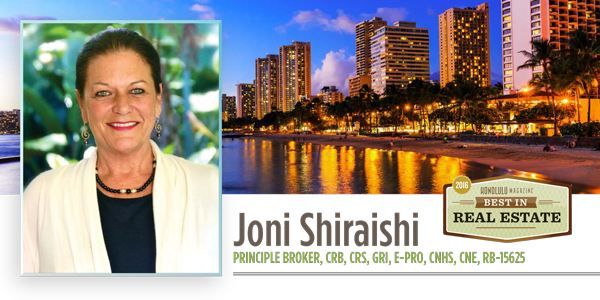 Real Estate Joni Shiraishi