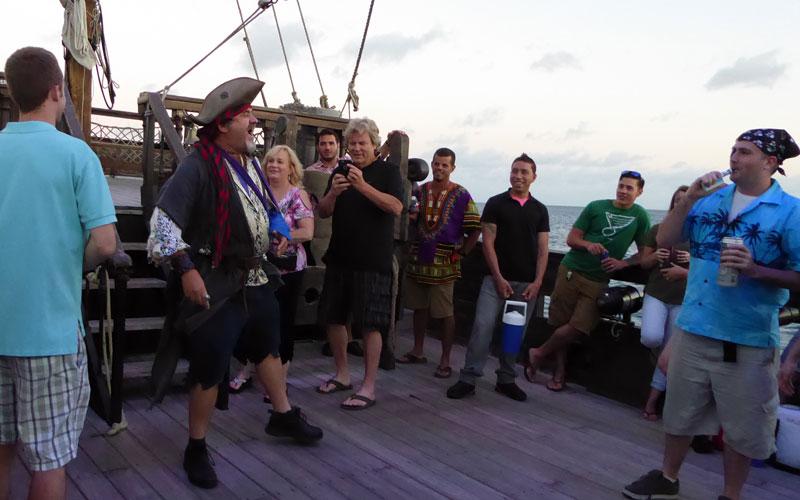 Hawaii Pirate Ship Adventures Captain