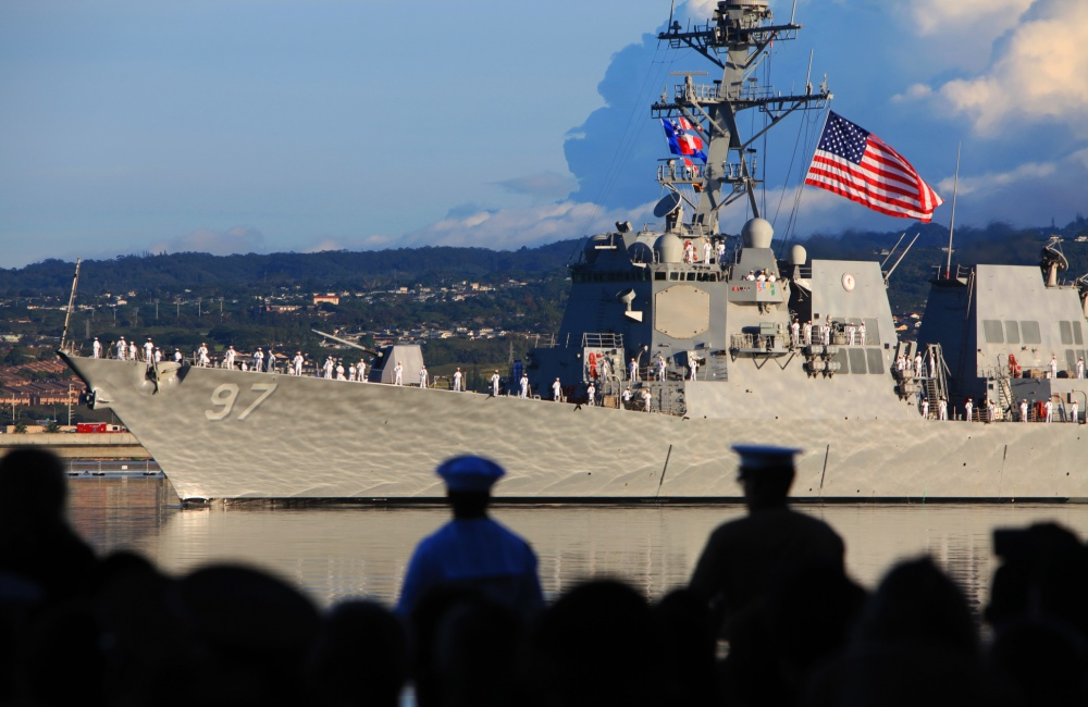 Pearl Harbor Ceremony Ship