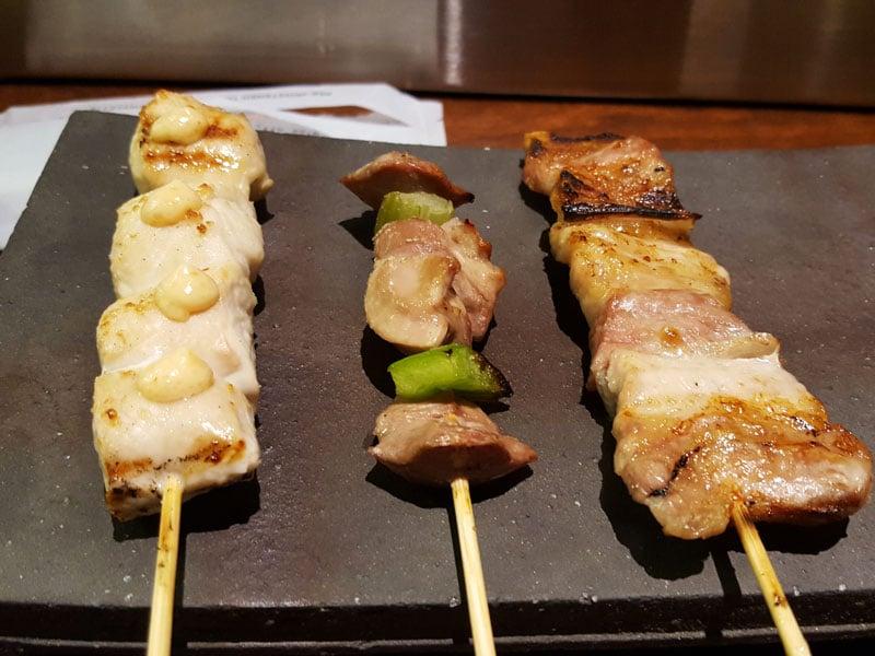 Yakitori Hachibei Meat