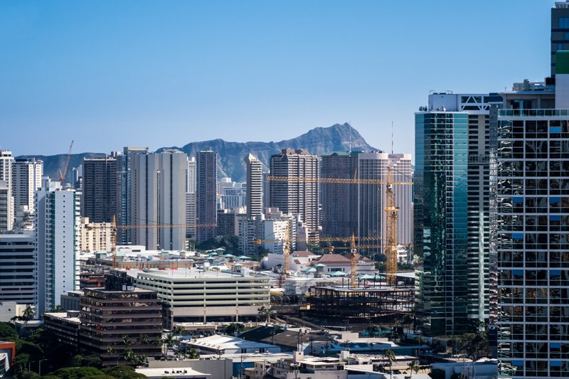 Real Estate Honolulu Cranes