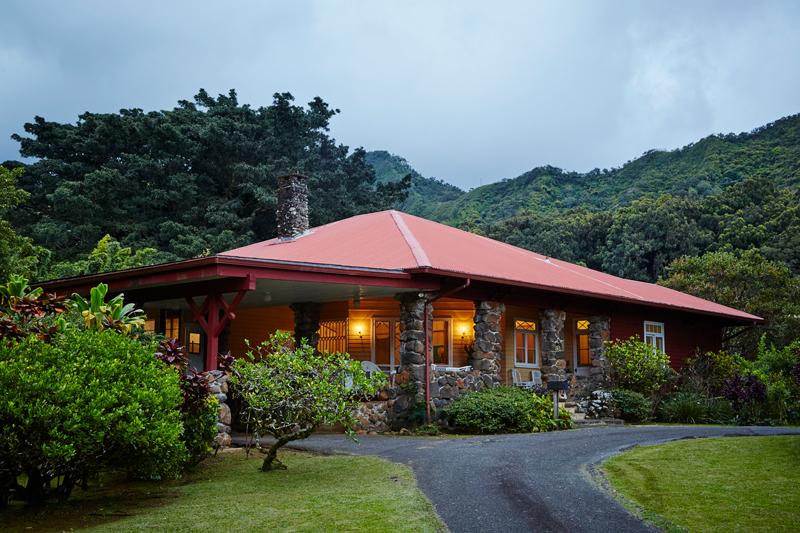 Real Estate Luakaha Evening Exterior