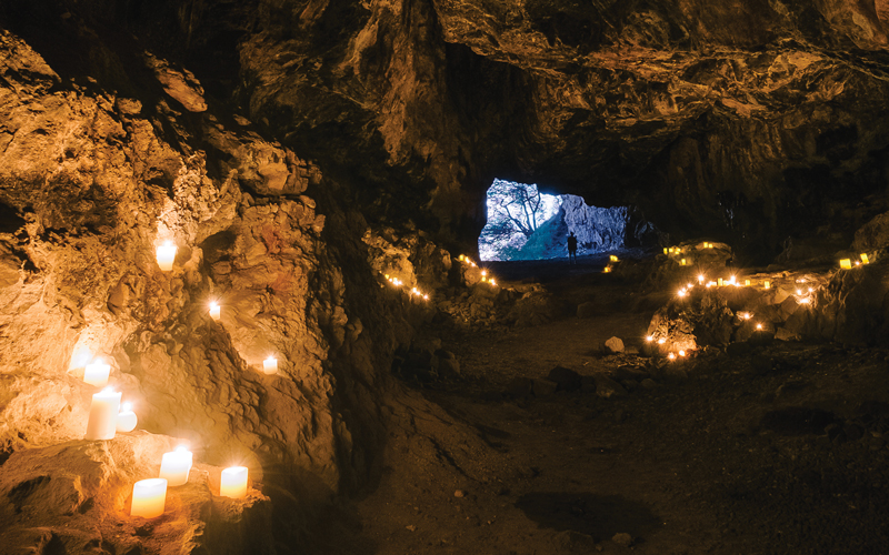 Makua Cave Shark God