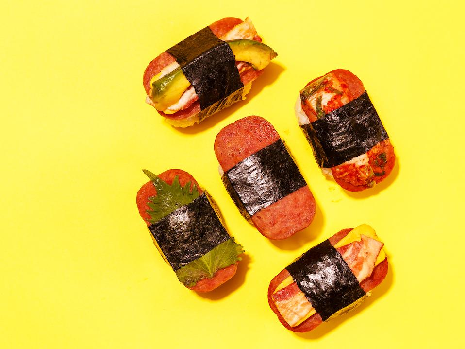Honolulus King Of Spam Musubi Now Serves 23 Varieties At 7 Spots On Oahu Cover