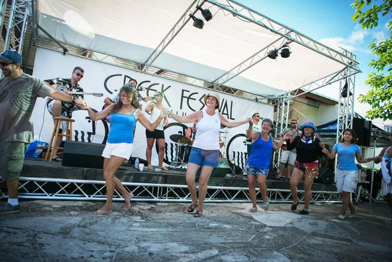 Greek Festival Dancing Cover