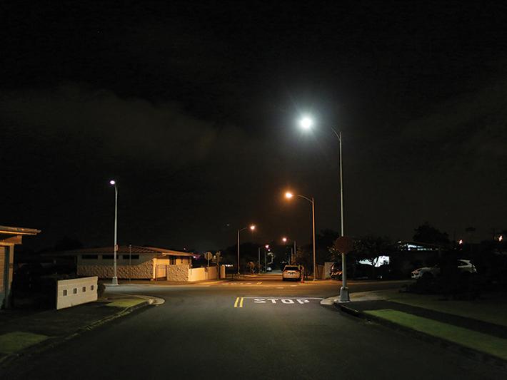 Splash Art Streetlights