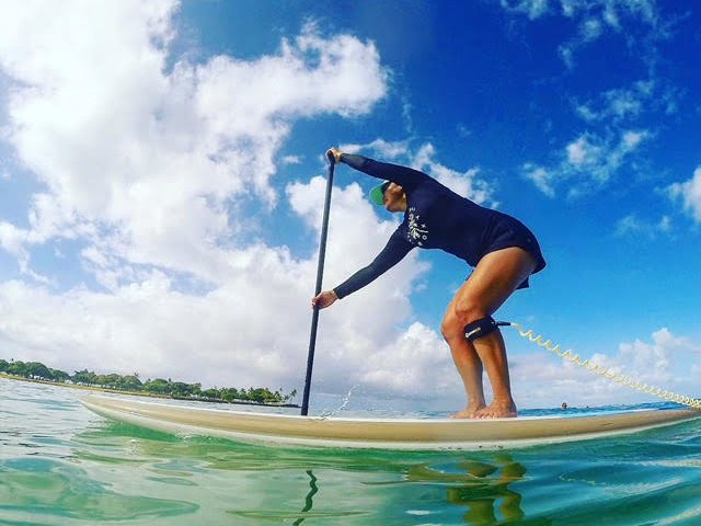 Open For Fitness We Tried A Stand Up Paddleboard Class Honolulu From Paddle Core Fitness Stacey Cover