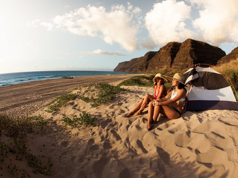Kauai Guide Where To Stay Camping