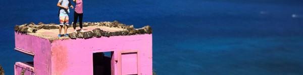 Splash Pink Pillbox