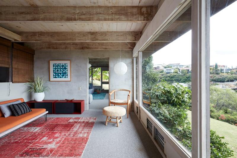 Real Estate Waialae Iki Living Room