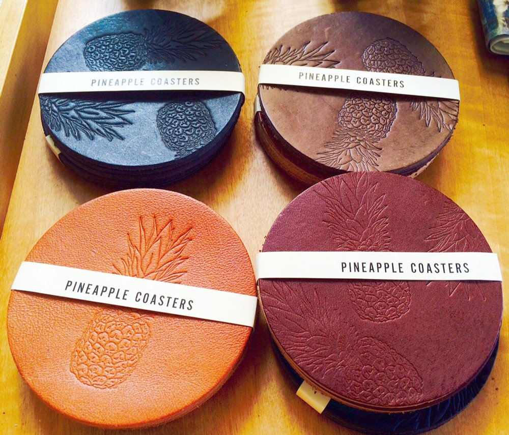 Pineapple Gifts Mau House Coasters At Owens And Co
