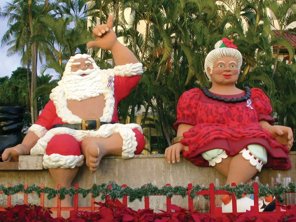 Gettyimages Shaka Santa Honolulu City Lights