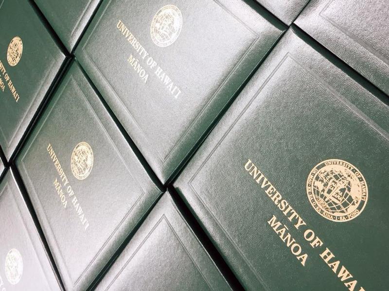 University Of Hawaii At Manoa Diplomas