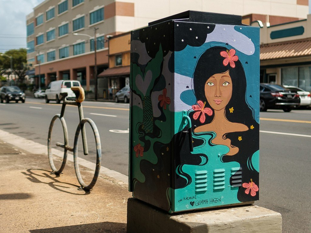 Kaimuki Art Boxes Street Art In Honolulu Cover