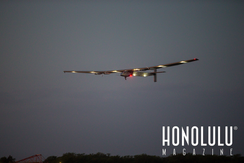Solar Impulse 2 takes to the skies.