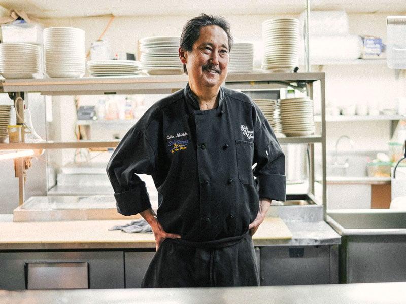 Hale Aina Reluctant Chef Colin Nishida